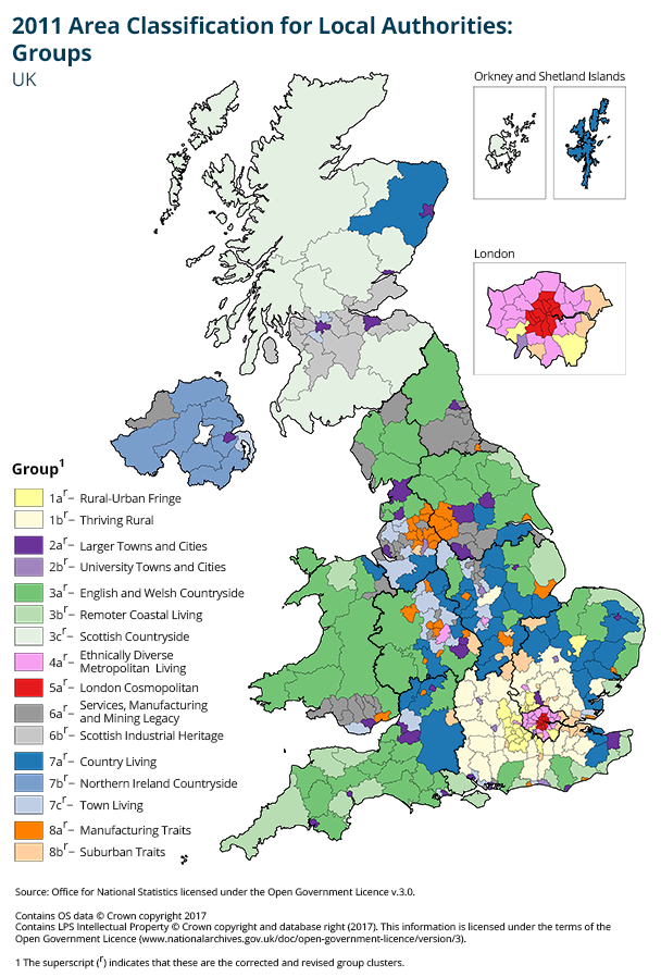 Map Of Uk And Ireland With Cities.Maps Office For National Statistics