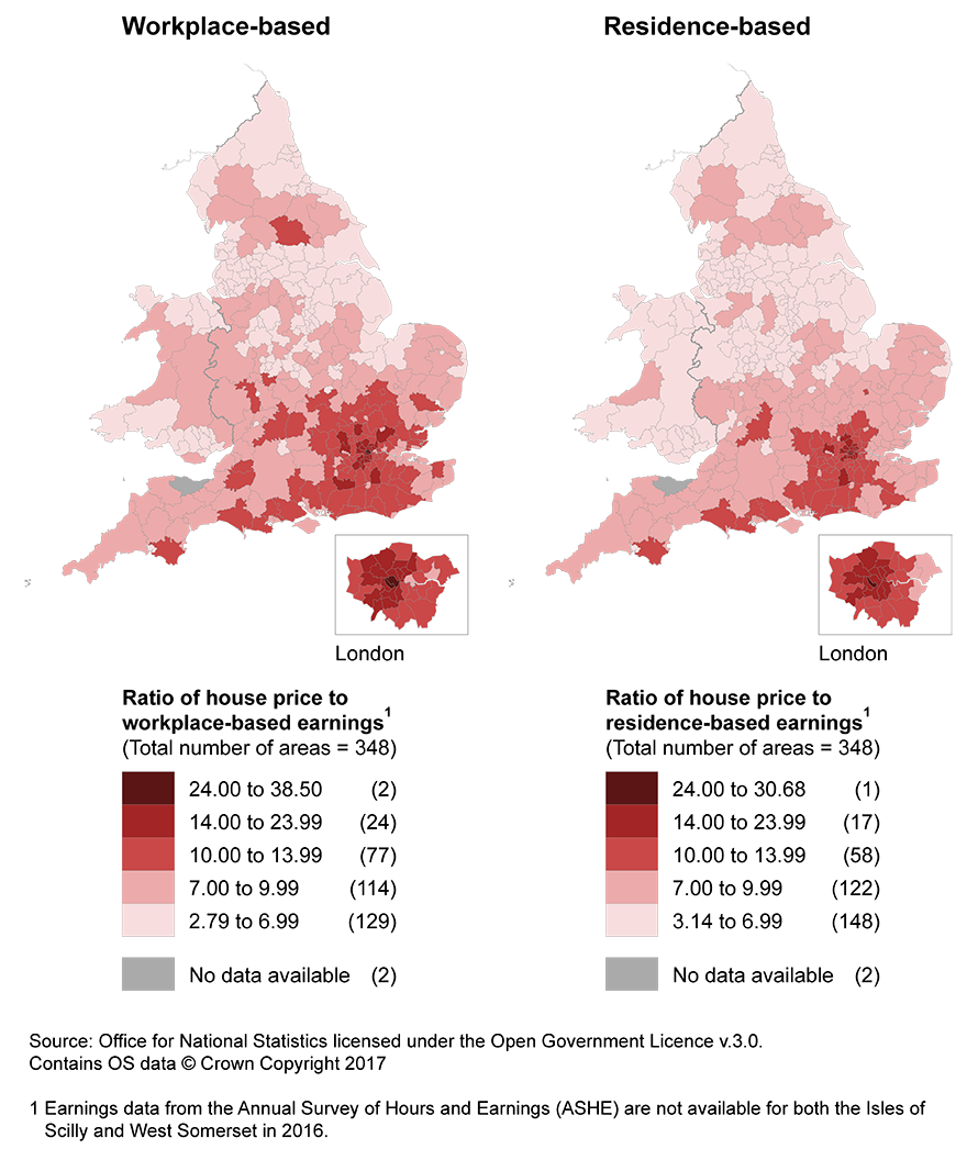 Housing affordability in england and wales office for national statistics - Office for national statistics ...
