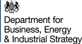 The Department for Business, Energy and Industrial Strategy logo