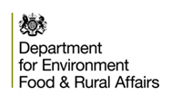 An image of the Department for Environment, Food and Rural Affairs (Defra) logo.