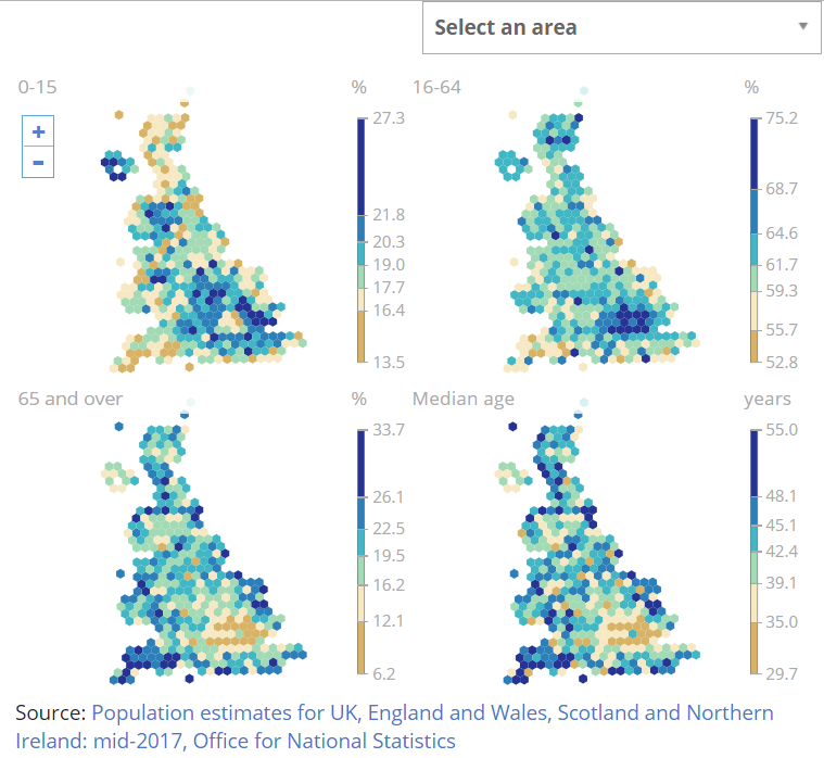 Population estimates for the UK, England and Wales, Scotland